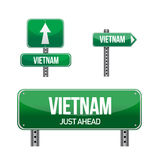 Vietnam Country road sign Royalty Free Stock Image