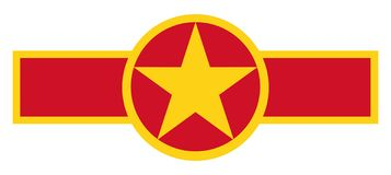 Vietnam country roundel royalty free stock photos
