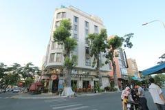 Vietnam Da Nang street view stock images