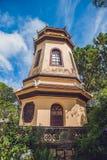 Vietnam, Dalat - May 9, 2017: Linh Son Pagoda in Da Lat, Vietnam. Dalat& x27;s landmark, buddhist temple. Vietnam, Dalat - May 9, 2017: Linh Son Pagoda in Da Lat royalty free stock photo