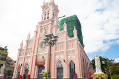 Vietnam Danang Cathedral Royalty Free Stock Image