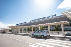 Vietnam Danang internationell flygplats Fotografering för Bildbyråer