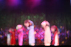 Vietnam dance stock image