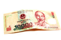 10000 Vietnam Dong Banknote Lizenzfreie Stockfotos