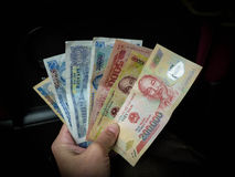 Vietnam Dong Money Arkivfoto
