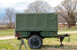 Vietnam Era Military Covered Wagon Royalty Free Stock Images