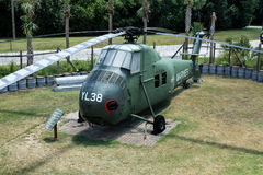 Vietnam Exhibit at Patriot's Point, Mount Pleasant, SC. Royalty Free Stock Photos