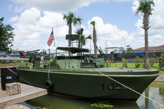 Vietnam Exhibit at Patriot's Point, Mount Pleasant, SC. Royalty Free Stock Images