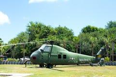 Vietnam Exhibit at Patriot's Point, Mount Pleasant, SC. Royalty Free Stock Photo