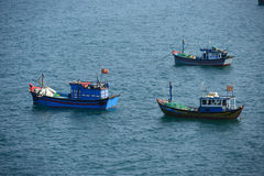 Vietnam fishing boat, Phu Yen. Vietnam Royalty Free Stock Photos