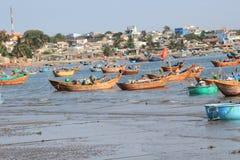 Vietnam fishing village in Mui Ne Stock Images
