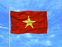 Vietnam Flag 1 Royalty Free Stock Photos