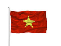 Vietnam Flag 2 Stock Photo