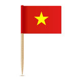 Vietnam flag. Flag toothpick 10eps Royalty Free Stock Images