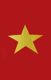 Vietnam-Flagge Stockfoto