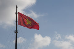 Vietnam-Flagge Lizenzfreies Stockbild