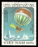 Vietnam flyg, luftballong Royaltyfri Fotografi