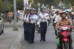 Vietnam folkmarin Arkivfoton