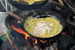 Vietnam food, banh xeo, vietnamese pancake Stock Images