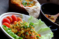 Vietnam food, fried rice royalty free stock images
