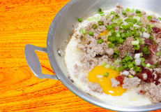 Vietnam fried egg Royalty Free Stock Image
