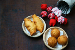 Vietnam gatamat, fastfood Arkivbilder
