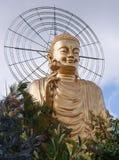 Vietnam gold buddha Stock Images