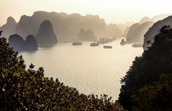 Vietnam ha long bay Obraz Stock