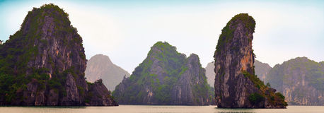 Vietnam ha long bay Zdjęcie Stock