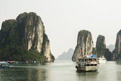 Vietnam ha long bay Zdjęcia Royalty Free