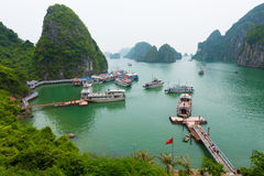 Vietnam ha long bay Obrazy Royalty Free