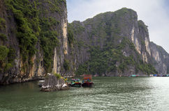 vietnam Halong Immagine Stock