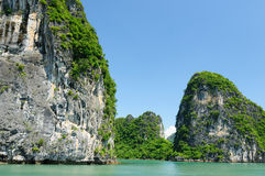 Vietnam - Halong Bay Royalty Free Stock Photography
