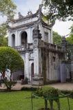vietnam hanoi De Tempel van Literatuur Stock Afbeeldingen