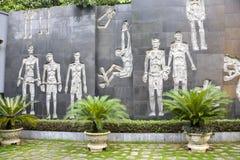Vietnam, Hanoi: Hoa Lo prison Stock Photography