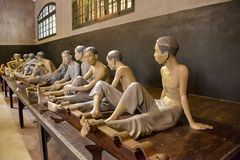 Vietnam, Hanoi: Hoa Lo prison Royalty Free Stock Images