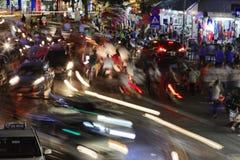 Vietnam Hanoi motion blur Royalty Free Stock Photos