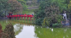 Vietnam Hanoi stad royaltyfri foto