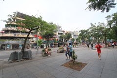 Vietnam Hanoi street view Royalty Free Stock Image