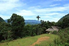 Vietnam-Haus im Dschungel Lizenzfreie Stockfotos