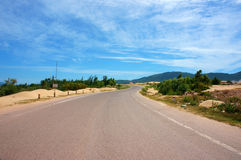Vietnam, highway, route, travel Stock Image