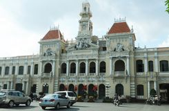 Vietnam: Ho Chi Ming City`s Opera stock images