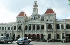 Vietnam: Ho-chi-Ming-stad opera royalty-vrije stock foto's