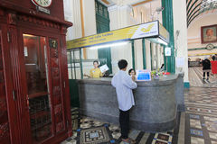 Vietnam Ho Chi Minh City Central Post Office Stock Photo