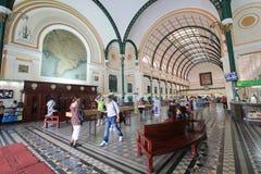 Vietnam Ho Chi Minh City Central stolpe - kontor Royaltyfri Fotografi