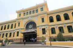 Vietnam Ho Chi Minh City Central stolpe - kontor Royaltyfri Bild