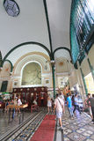 Vietnam Ho Chi Minh City Central stolpe - kontor Arkivbild