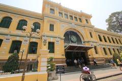 Vietnam Ho Chi Minh City Central stolpe - kontor Royaltyfri Foto