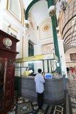 Vietnam Ho Chi Minh City Central stolpe - kontor Fotografering för Bildbyråer