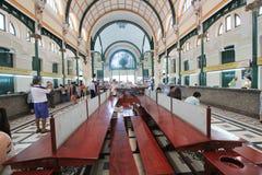 Vietnam Ho Chi Minh City Central stolpe - kontor Arkivfoto